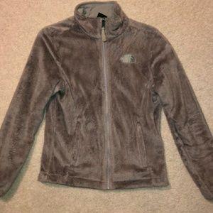 Womens size small gray northface jacket